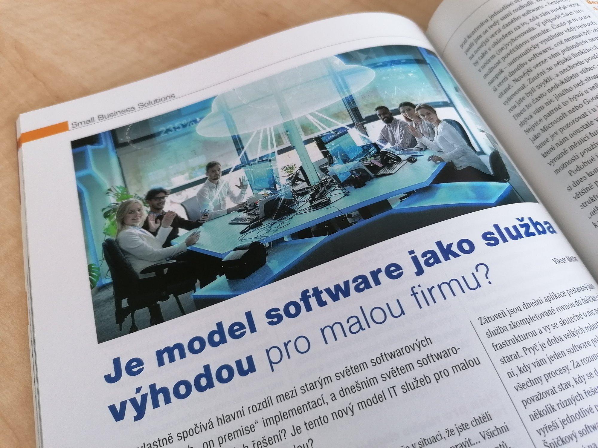TULIP clanek o SaaS pro IT systems